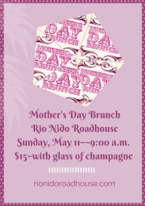 Mother's Day Brunch Rio Nido Roadhouse