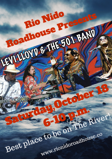 10.18.2014 Levi Lloyd & The 501 Band