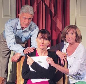 Terry Kolkey, Saskia Baur, Sheila Lichirie Photograph by Nick Charles